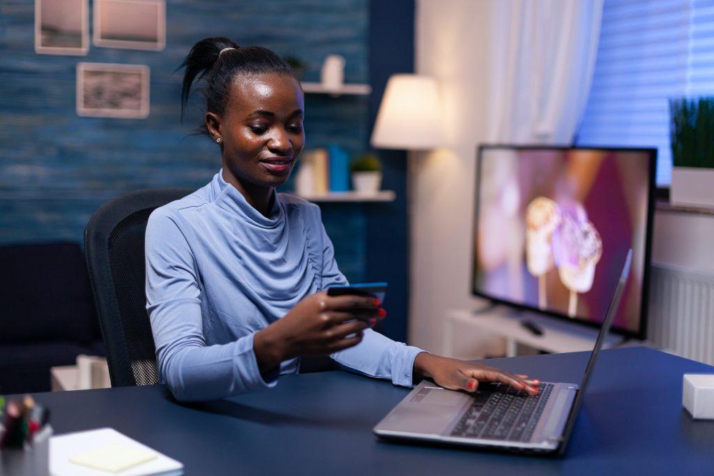 african woman looking at cw security code Jospong Group